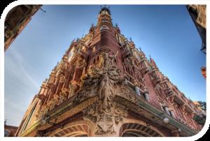 Дворец на каталунската музика